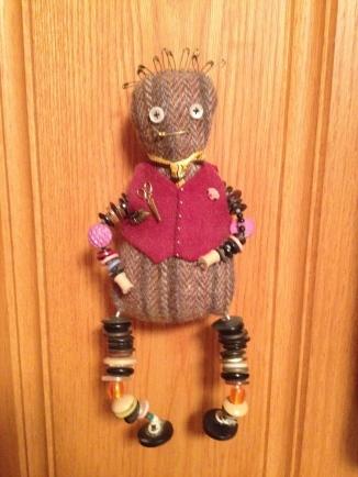 Pop Pop doll made by Annie Singer