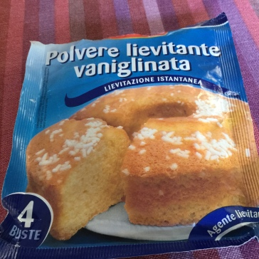 Polvere lievitanta - a rising agent