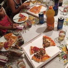 Pizza con i miei cugini