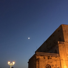 Clear night in Vasto
