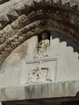 Remains of San Pietro - detail