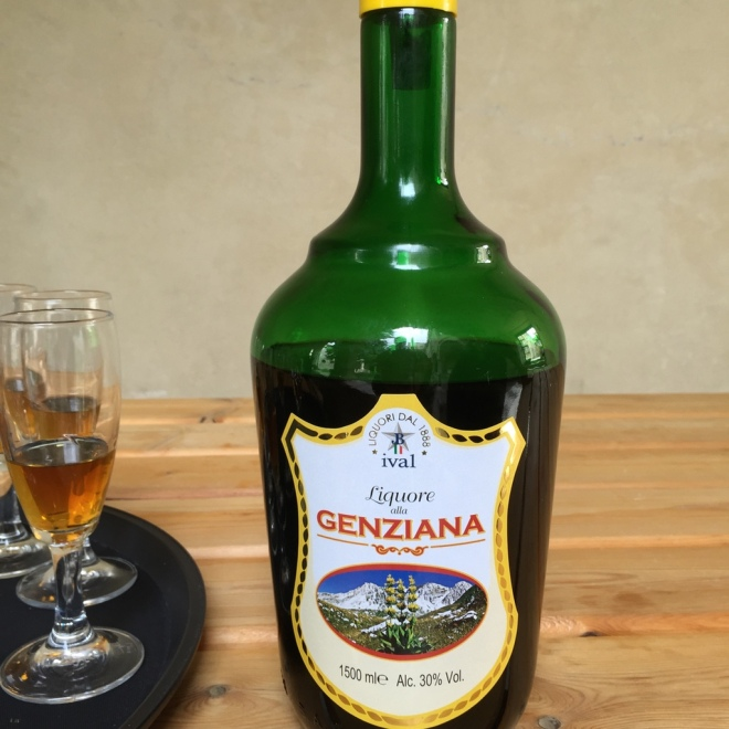 Genziana - herbal liquor