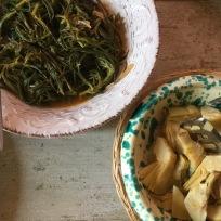 Chicory & artichokes. Cicoria & carciofi.