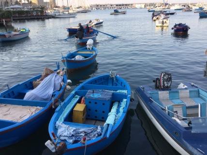 The harbour at Bari