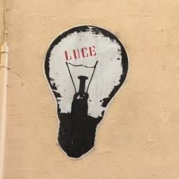 Luce on Lecce