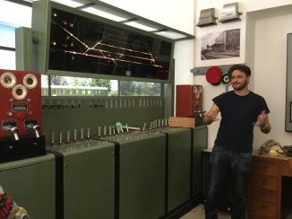 Working the old signals at Museo Ferroviario della Puglia