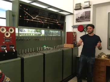 Working the old signals at Museo Ferroviario della Puglia