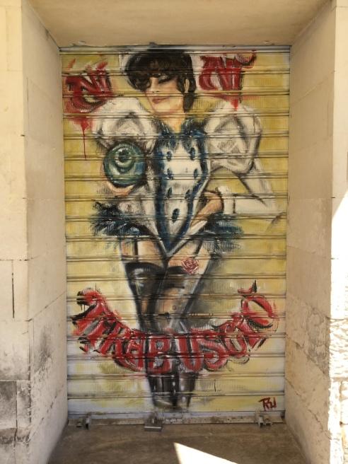 More Street Art, near Porta Rudiae.